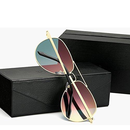 Gafas Gafas Sol 100 Espejo De para UV Anti Pink Polarizadas Hombres TESITE naF7YW6Y