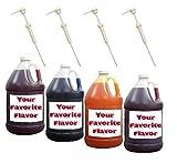 Mix & Match Syrup W/Pumps