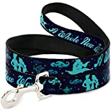 Buckle Down Dog Leash - Aladdin & Jasmine Silhouette A WHOLE NEW WORLD