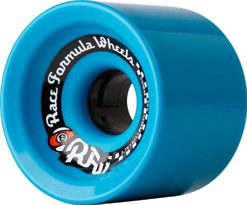 - Sector 9 Race Formula Skateboard Wheel, Blue, 69mm 80A