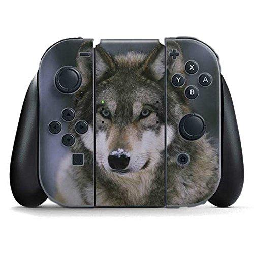 Animal Photography Nintendo Switch Joy Con Controller Skin - Gray Wolf at International Wolf Center | Animals & Skinit Skin by Skinit