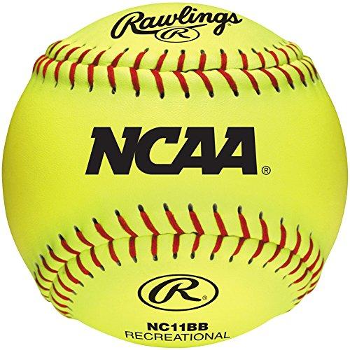 Rawlings Nc11bb NCAA 11In Fastpitch Softball 12 Ball.