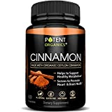 100% Ceylon Cinnamon – Pure Extract 1200mg – 60 Easy-to-Swallow Capsules with Organic Powder – Anti-Flamatory & Antioxidant Supplements – Blood Sugar Support Pills & Brain Booster Review
