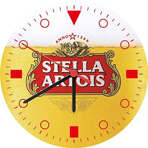 stella-artois-beer-wall-clock