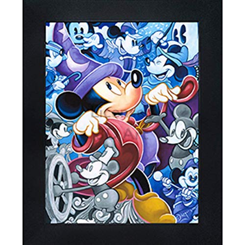 Mickey Mouse 3D Poster Wall Art Decor Framed | 14.5x18.5