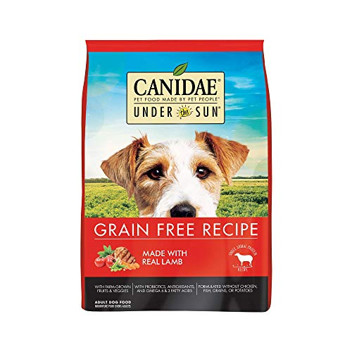 CANIDAE Under The Sun Grain Free Adult Dog Food With Lamb -