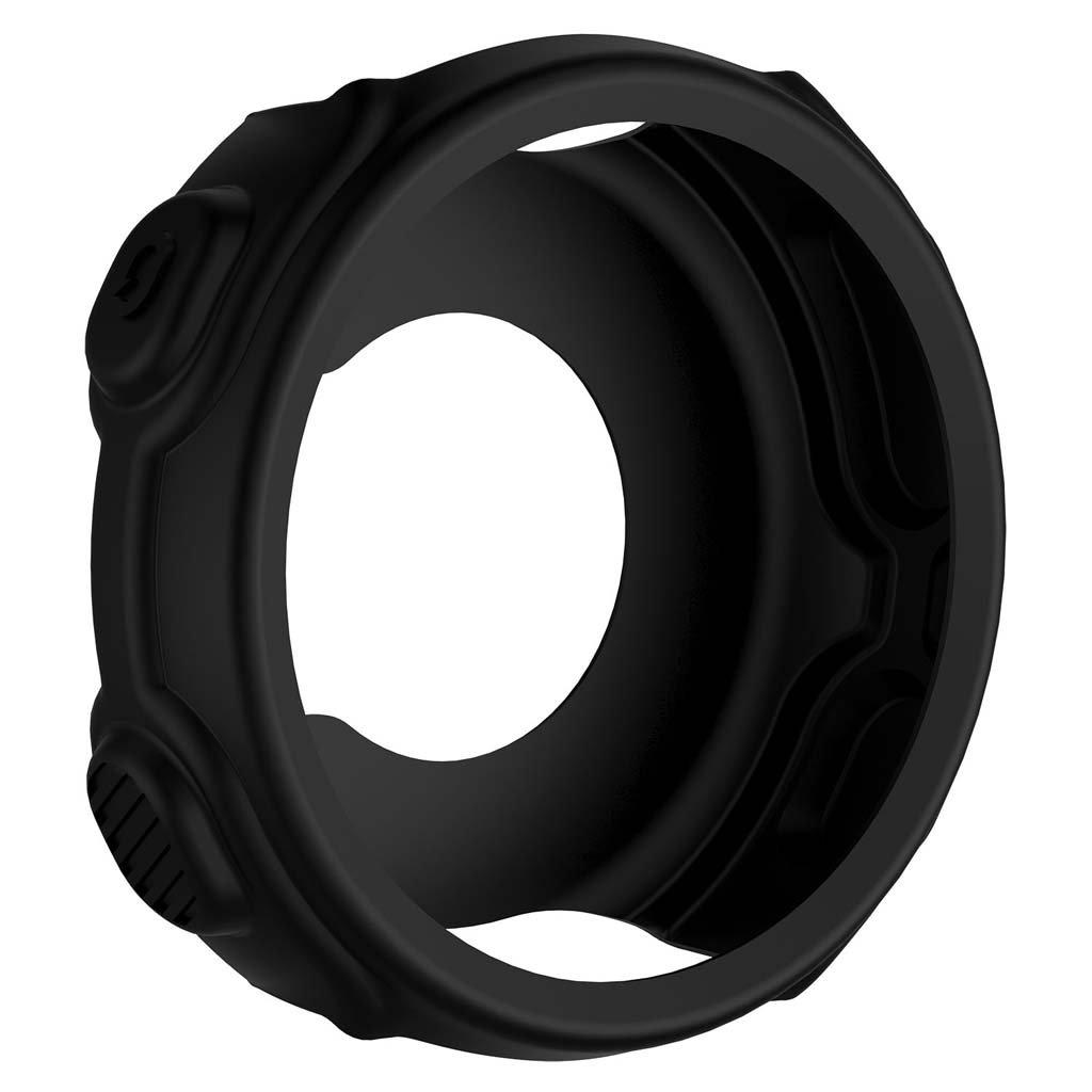 Cicitop Silicone Protective Case Cover for Garmin Forerunner 235 735XT(Black)