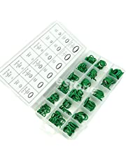 FALON TECH 270 x HNBR O-ring assortiment GREEN afdichtring afdichting temperatuurbestendig voor airconditioning R134a (in opbergdoos/assortimentsbox)