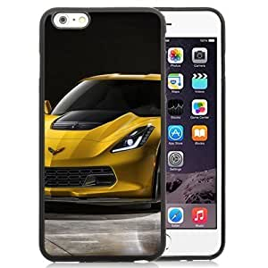 New Personalized Custom Designed For iphone 5C Inch Phone Case For Chevrolet Corvette Z06 Yellow Phone Case Cover