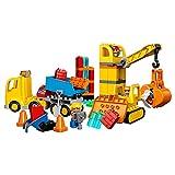 LEGO DUPLO Town 10813 Big Construction Site Building Kit (67-Piece)