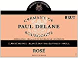 NV Paul Delane Rosé Burgundy Sparkling Wine 750 mL