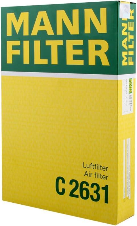 Original MANN-FILTER Luftfilter C 2631 Hyundai