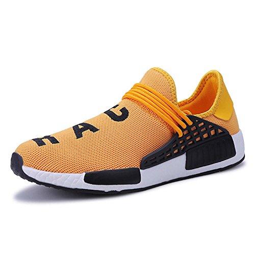 finest selection cb7d3 6ef92 Puremee Hombres Atlético de los Zapatos de Malla Flyknit Correr Ligeras  Zapatillas de Deporte de Las