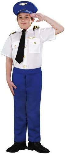Boys Toys - Disfraz de aviador para niño: Amazon.es: Juguetes y juegos
