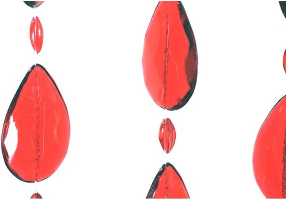 Cortina para Puertas Gotas Multicolor HAB /& GUT 90 x 200 cm DV0193