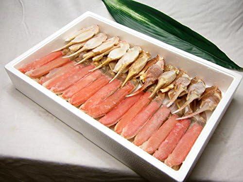 食の達人森源商店 贈答用カット済み 生ずわい蟹 たっぷり2kg ※冷凍便