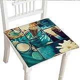 """Classic Decorative Chair pad (32""""x32""""x2pcs, Seat Cushions Garden Patio Home Chair CushionsSpa Decor"""
