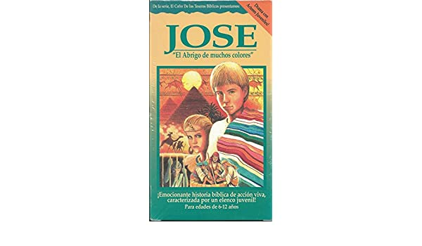Amazon.com: Jose: El Abrigo de Muchos Colores / Joseph [VHS]: Treasure Chest Videos: Movies & TV