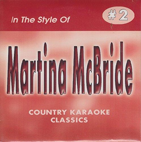 Martina McBride COUNTRY KARAOKE CLASSICS CDG VOL. 02
