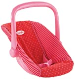 : Corolle Nursery Red Fuchsia Small Infant Carrier
