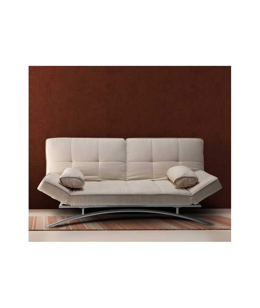 Sofas Cama Clic CLAC CERDEÑA Blanco: Amazon.es: Hogar
