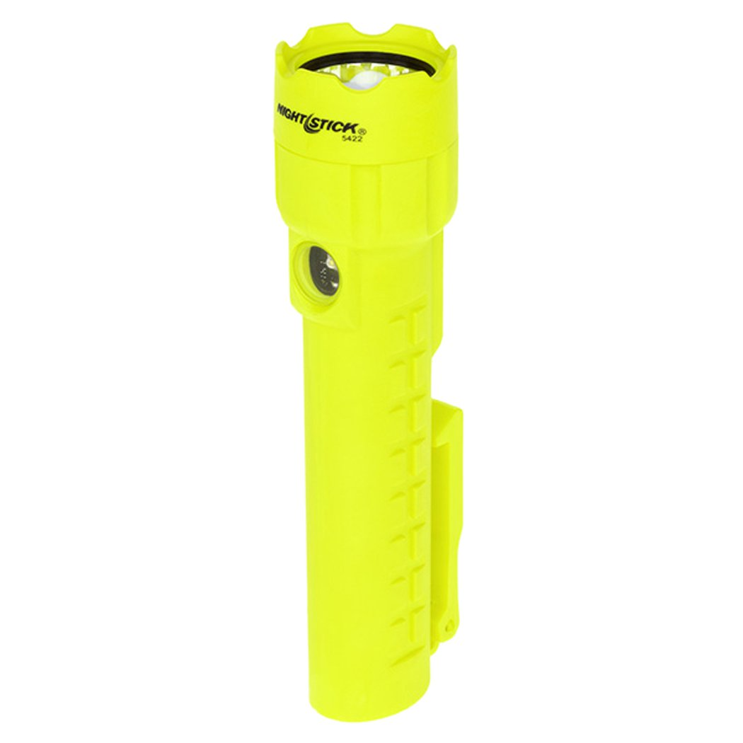 Nightstick XPP-5422GM Intrinsically Safe Permissible Dual-Light Flashlight with Dual Magnets, Green