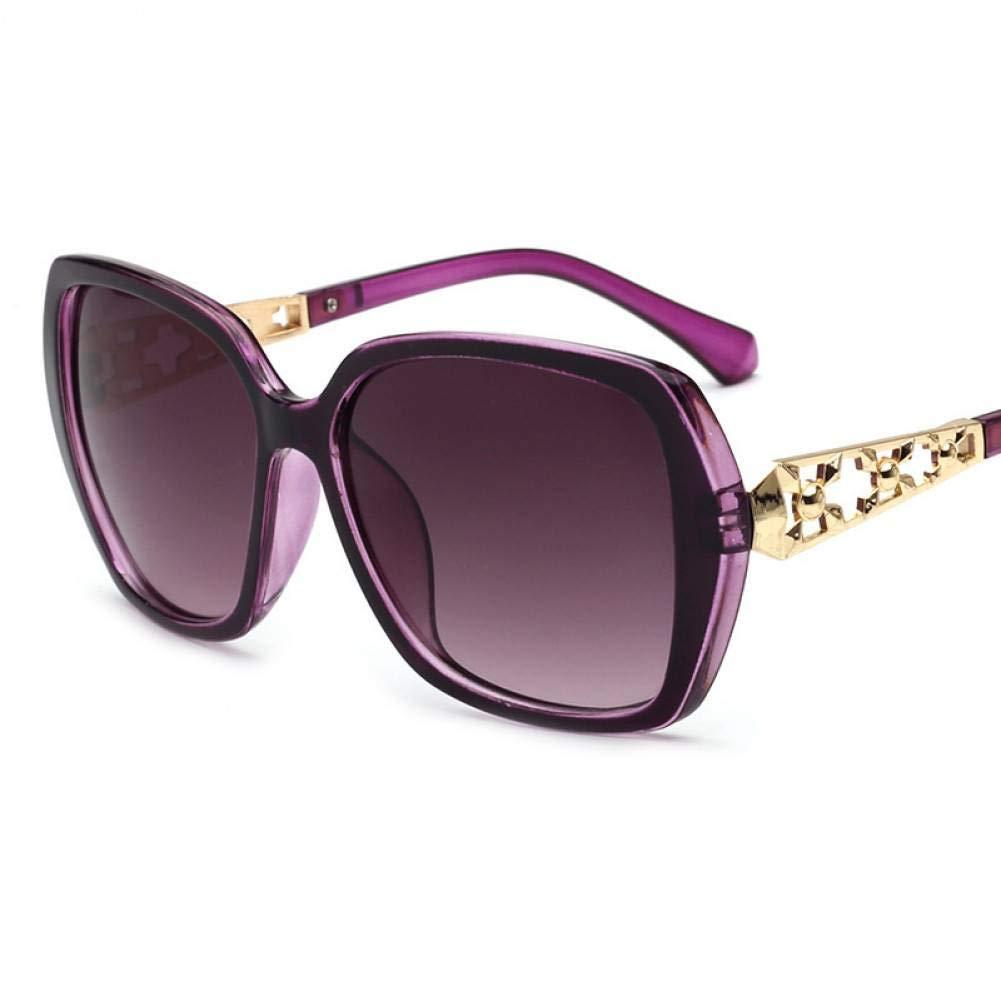 TYJYTM Gafas de Sol Vintage Mujer Gafas de Sol con Montura ...