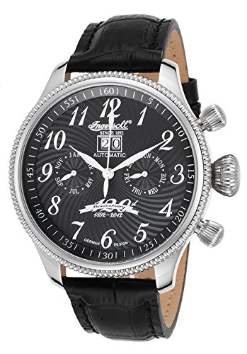 Ingersoll Men's IN3106BK Independence Analog Display Chinese Automatic Black Watch