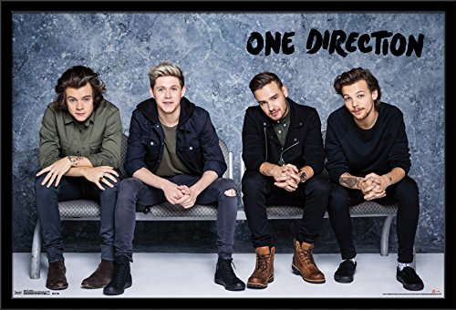 Trends International Wall Poster One Direction Bench, 22.375 x 34