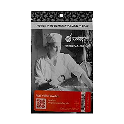 AAA Grade Egg Yolk Powder (? Non-GMO ? OU Kosher Certified Pasteurized, Made in USA, Produced from the Freshest of Eggs) - 50g/2oz