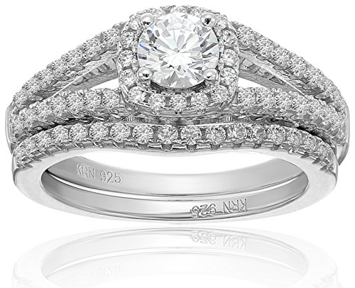 Amazon Collection Zirconia Sterling Wedding