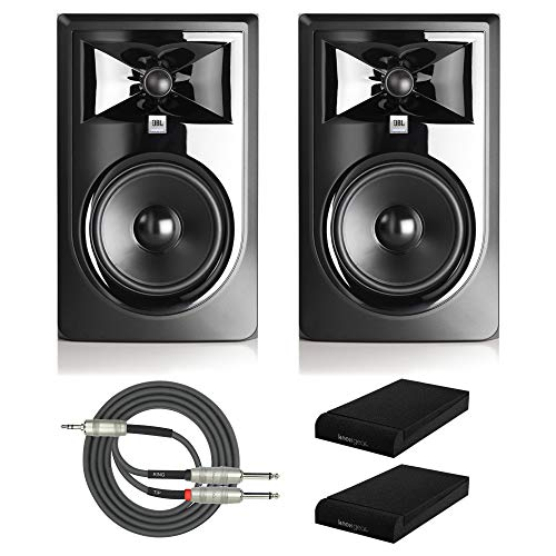 "JBL 305P MkII Powered 5"" Two-Way Studio Monitors  with Knox"