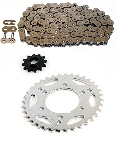 Non O-Ring 86L Chain & Sprocket Set 12/38 fits 1995-1998 Polaris 425 Magnum - 425 Chains Magnum Polaris