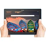 Lenovo Tab 10 Tablet, 10.1' HD Touchscreen, Qualcomm Quad-core Processor 1.30GHz, 1GB Memory, 16GB Storage, Wifi, Bluetooth, Webcam, Up to 10 hours battery life, Android 6.0 OS