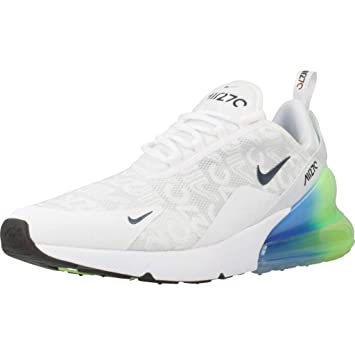 1cb2ce6cad9805 Amazon.com  NIKE Air Max 270 SE Explosion AQ9164-100 Running Shoes ...