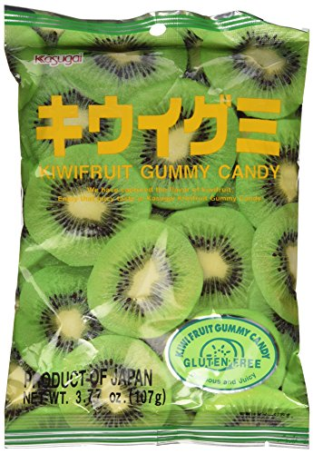Japanese Fruit Gummy Candy from Kasugai - Kiwi - 107g
