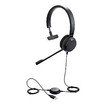 Jabra Evolve 30 II Stero On Ear Headphone with Mic: Buy Jabra ...