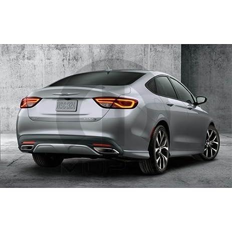 2015 2017 chrysler 200 primed rear bumper fascia side accents 82214865