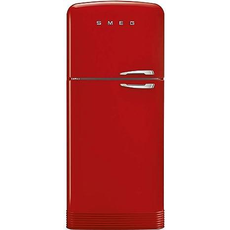 Smeg FAB50LRD nevera y congelador Independiente Rojo 440 L A++ ...