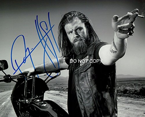 Ryan Hurst As Opie On Sons Of Anarchy Reprint Signed Photo  3 Rp