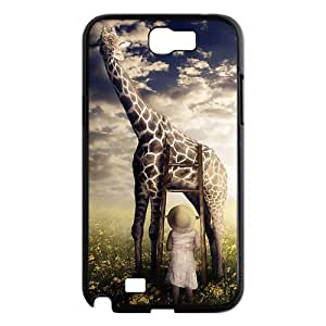 Custom Giraffe Design Plastic Case Protector For Samsung Galaxy Note 2