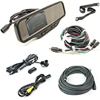 Rostra 250-8081B Heavy Duty Rear View Mirror Camera System