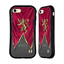 Official HBO Game Of Thrones Lannister Sigil Flags Hybrid Case for Apple iPhone 7
