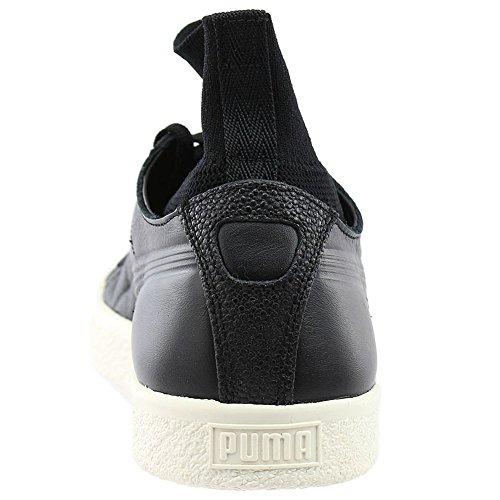 Pumas Mens Caviar Chaussette Clyde Fm Noir Puma