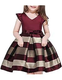 2-10T Flower Girls Dresses Kids Ball Gown Party Dress