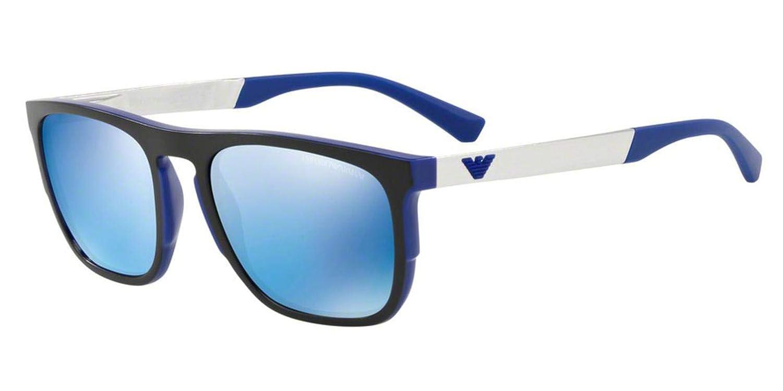 f30841f1 Sunglasses Emporio Armani EA 4114 F 567355 MATTE ELECTRIC BLUE at ...