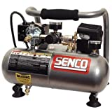 Factory-Reconditioned Senco PC1010, 1 Gallon Electric Oil-Less Hand-Carry Compressor PC1010