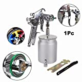 Air Hand Manual Paint Spray Gun Sprayer with 600cc Cup for Automotive, Industrial, Marine and Wood Working 1.8mm Nozzle