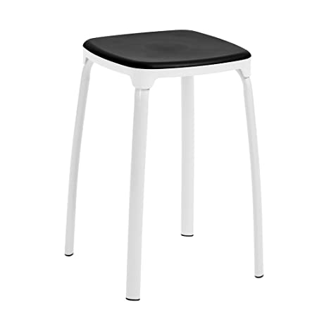 Remarkable Furniturer Set Of 6 Dining Stool Chairs Portable Stackable Ibusinesslaw Wood Chair Design Ideas Ibusinesslaworg