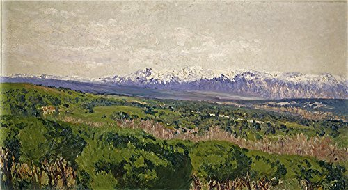 Polyster Canvas ,the Vivid Art Decorative Prints On Canvas Of Oil Painting 'Beruete Y Moret Aureliano De El Guadarrama 1911 ', 12 X 22 Inch / 30 X 56 Cm Is Best For Bar Artwork And Home Gallery Art And Gifts